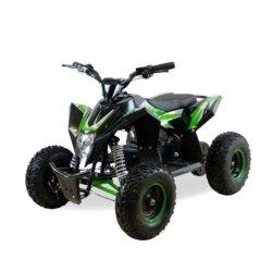 Детский квадроцикл бензиновый Motax GEKKON 70cc черно-зеленый (пульт контроля, до 45 км/ч)
